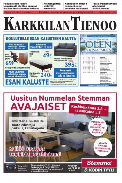 Karkkilan Tienoo 31.5.2019 Lehtiluukku.fi