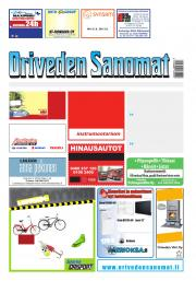 Oriveden Sanomat 09.08.2017
