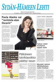 Sydän-Hämeen Lehti 24.01.2012