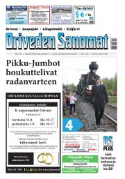 Oriveden Sanomat 30.08.2017