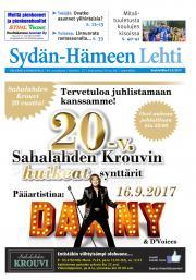 Sydän-Hämeen Lehti 13.9.2017