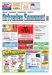 Oriveden Sanomat 9.8.2017