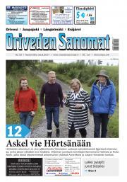 Oriveden Sanomat 16.8.2017