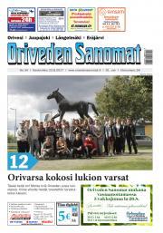Oriveden Sanomat 23.8.2017