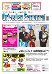 Oriveden Sanomat 1.11.2017