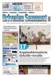 Oriveden Sanomat 8.11.2017