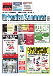 Oriveden Sanomat 22.11.2017