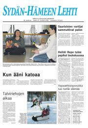 Sydän-Hämeen Lehti 09.03.2012