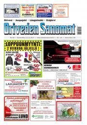 Oriveden Sanomat 13.12.2017