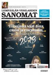 Lempäälän-Vesilahden Sanomat 28.12.2017