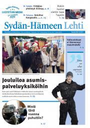 Sydän-Hämeen Lehti 28.12.2017