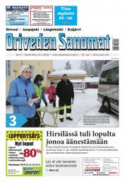 Oriveden Sanomat 24.1.2018