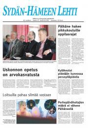 Sydän-Hämeen Lehti 30.03.2012