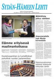 Sydän-Hämeen Lehti 03.04.2012