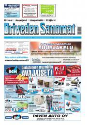 Oriveden Sanomat 5.4.2018