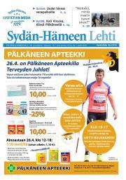 Sydän-Hämeen Lehti 18.4.2018