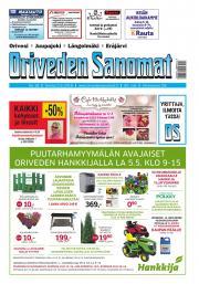 Oriveden Sanomat 3.5.2018