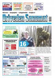 Oriveden Sanomat 9.5.2018