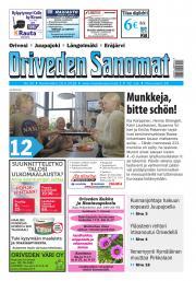 Oriveden Sanomat 16.5.2018