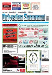 Oriveden Sanomat 23.5.2018