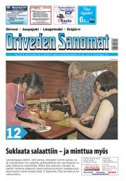 Oriveden Sanomat 30.5.2018