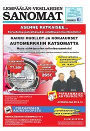 Lempäälän-Vesilahden Sanomat 24.05.2012