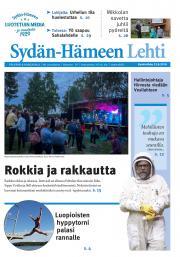 Sydän-Hämeen Lehti 22.8.2018