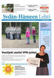 Sydän-Hämeen Lehti 15.06.2012