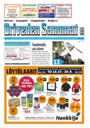 Oriveden Sanomat 26.9.2018