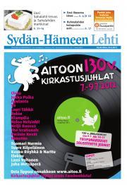 Sydän-Hämeen Lehti 21.06.2012
