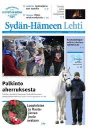 Sydän-Hämeen Lehti 28.11.2018