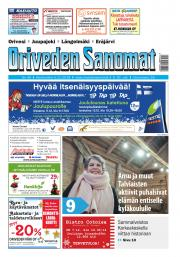 Oriveden Sanomat 5.12.2018