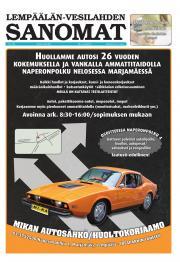Lempäälän-Vesilahden Sanomat 09.08.2012