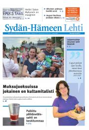 Sydän-Hämeen Lehti 10.08.2012