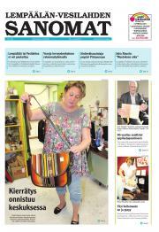Lempäälän-Vesilahden Sanomat 13.08.2012
