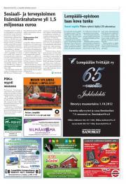 Lempäälän-Vesilahden Sanomat 20.08.2012