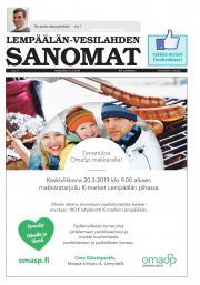 Lempäälän-Vesilahden Sanomat 13.3.2019