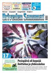 Oriveden Sanomat 8.5.2019