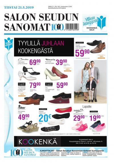 on sale 5c011 97dc3 Salon Seudun Sanomat - Lue uusin numero netissä!
