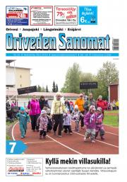 Oriveden Sanomat 29.5.2019