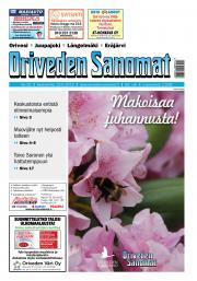 Oriveden Sanomat 19.6.2019