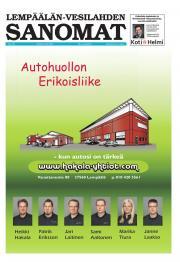 Lempäälän-Vesilahden Sanomat 18.10.2012