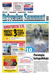 Oriveden Sanomat 2.10.2019