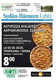 Sydän-Hämeen Lehti 9.10.2019