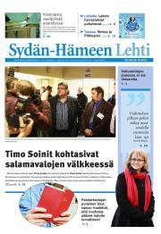 Sydän-Hämeen Lehti 26.10.2012