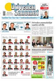 Oriveden Sanomat 23.10.2012