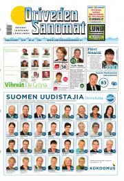 Oriveden Sanomat 25.10.2012