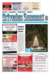 Oriveden Sanomat 4.12.2019