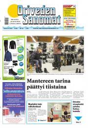 Oriveden Sanomat 08.11.2012