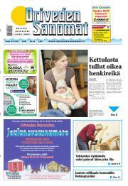 Oriveden Sanomat 15.11.2012